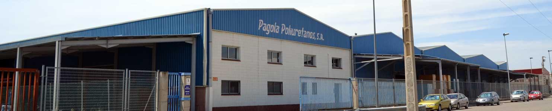 Pagola Poliuretanos, fábrica en el polígono industrial