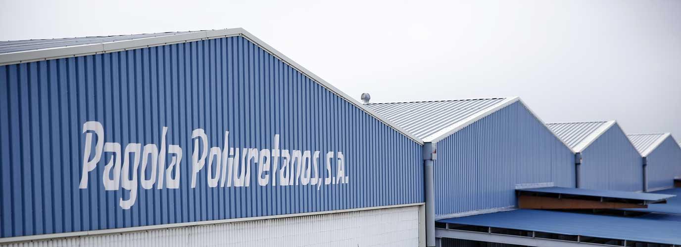 Pagola Poliuretanos, fábrica en el polígono industrial Valdemuel